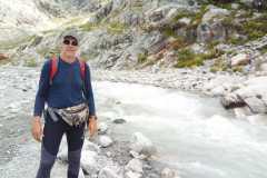 Uz ledāju Blanc Francijas Augšalpos 21-07-2017
