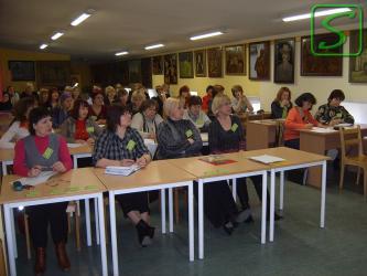 Logopēdi tiekas seminārā Valmieras Pārgaujas ģimnāzijā