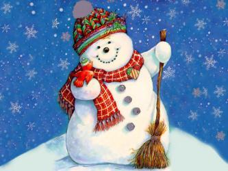 """Ziemassvētki logopēdiem """"Pie sniegavīriem"""""""